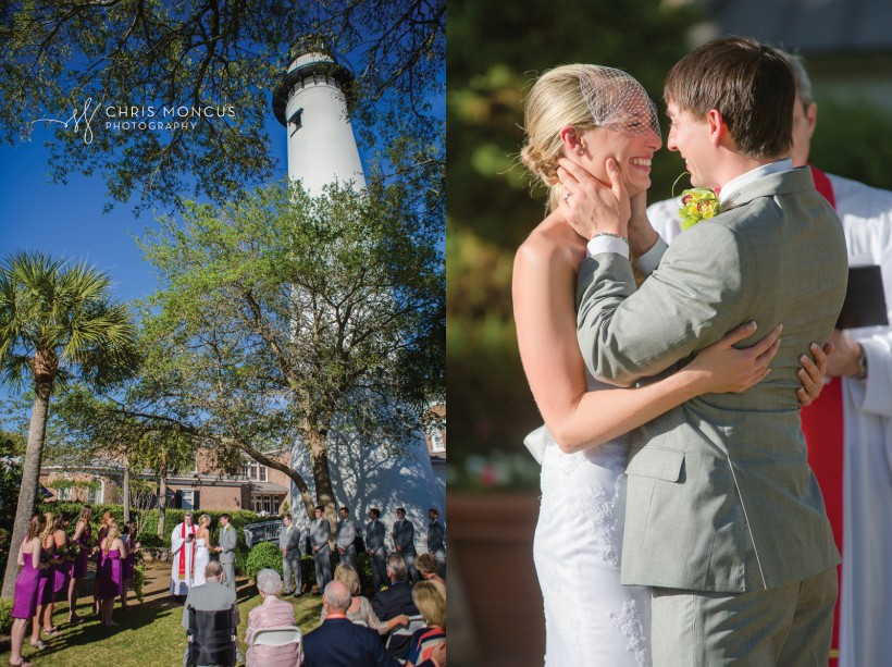 St Simons Island Lighthouse Wedding