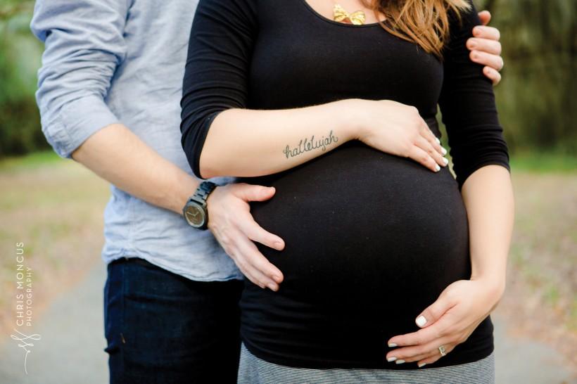 Maternity Session Hallelujah Tattoo
