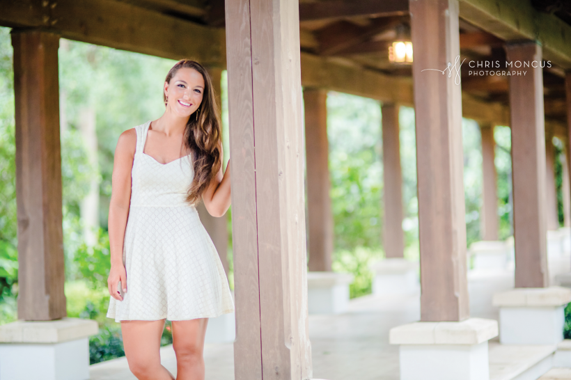 01 Sea Island Senior Portraits
