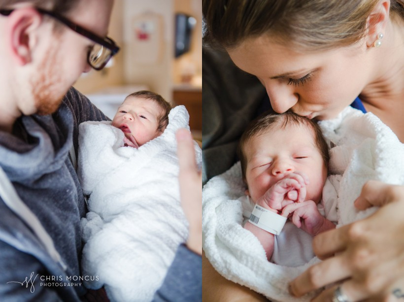 Parents Loving Newborn Photographer