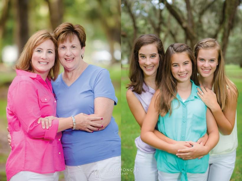St Simons Island Vacation Family Portrait Photographer