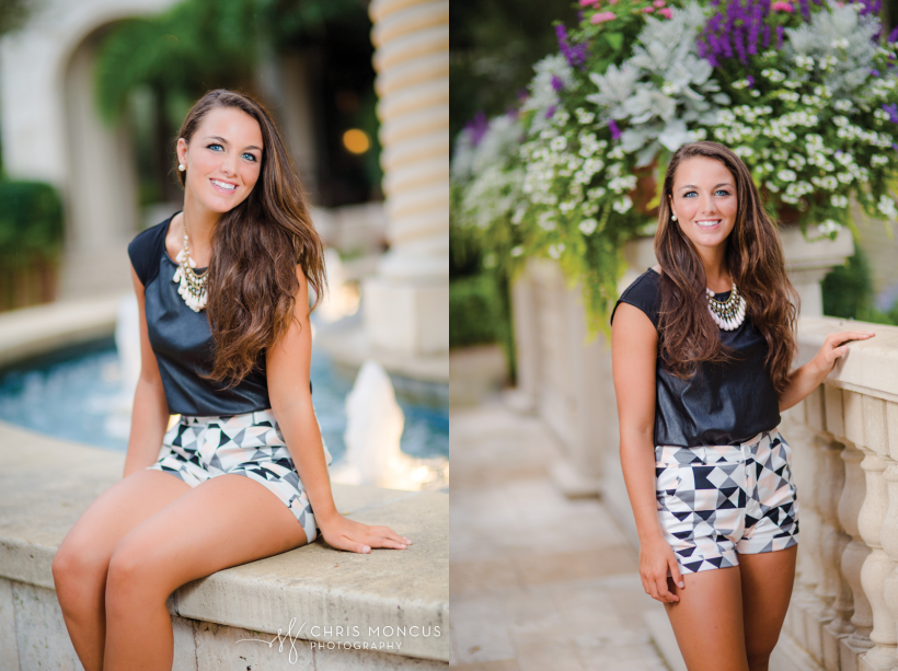 09 Sea Island Cloister Senior Portrait Photographer