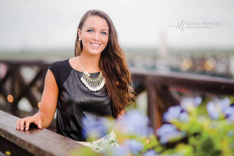 12 Sea Island Dock Senior Portraits