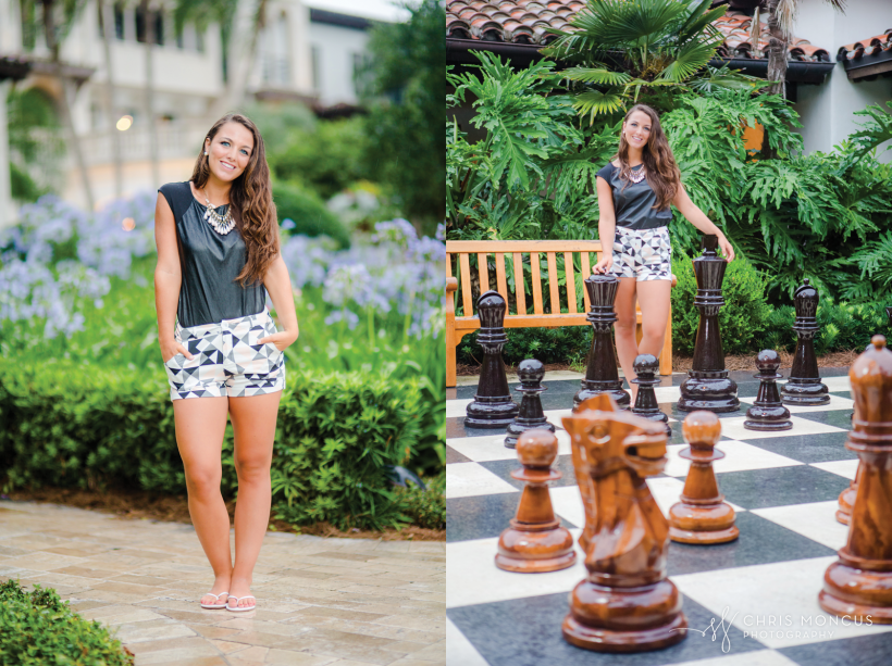 13 Sea Island Club Room Chess Board Senior Portraits