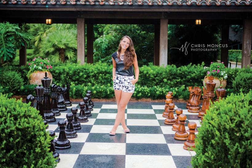 14 Sea Island Club Room Chess Board Senior Photography