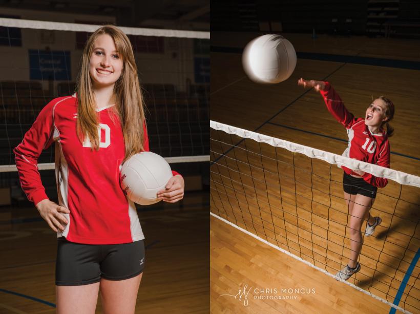 SEVA Volleyball Senior Portraits