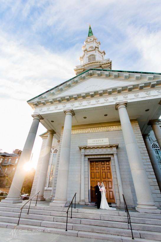 Beautiful Savannah Wedding at Independent Presbyterian Church an