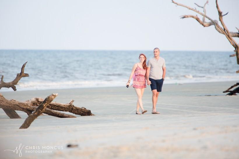 Driftwood Beach Proposal Jekyll Island 03