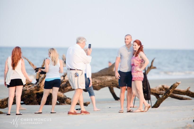 Driftwood Beach Proposal Jekyll Island 04