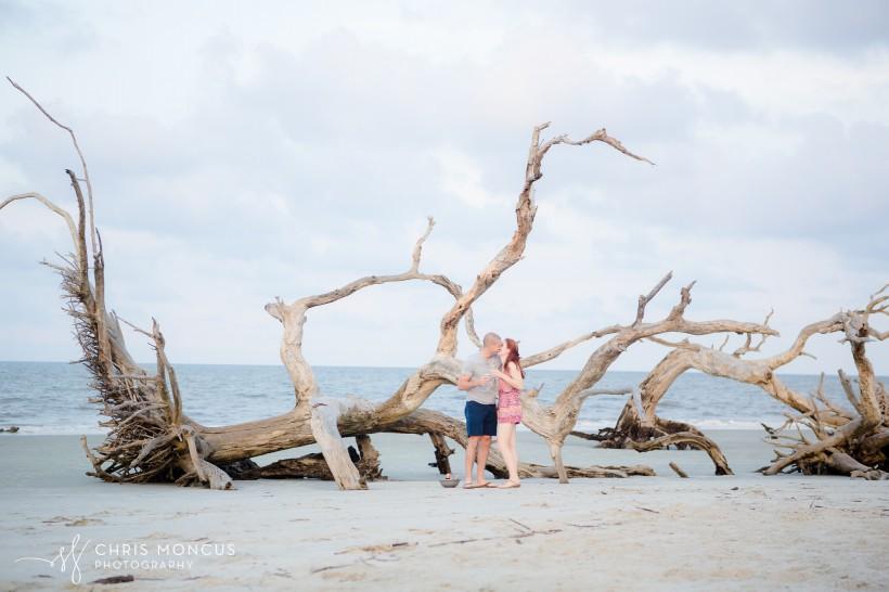 Driftwood Beach Proposal Jekyll Island 13
