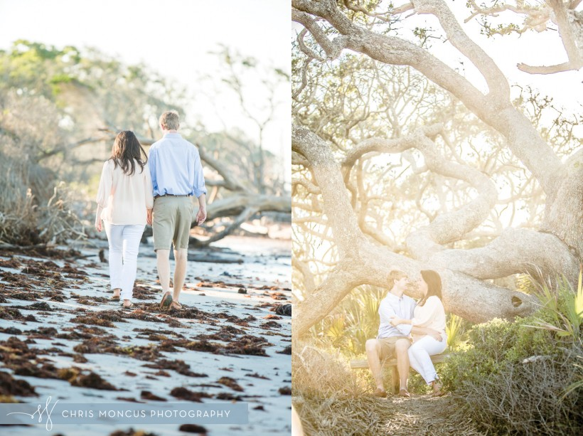 Jekyll Island Driftwood Beach Engagement Session