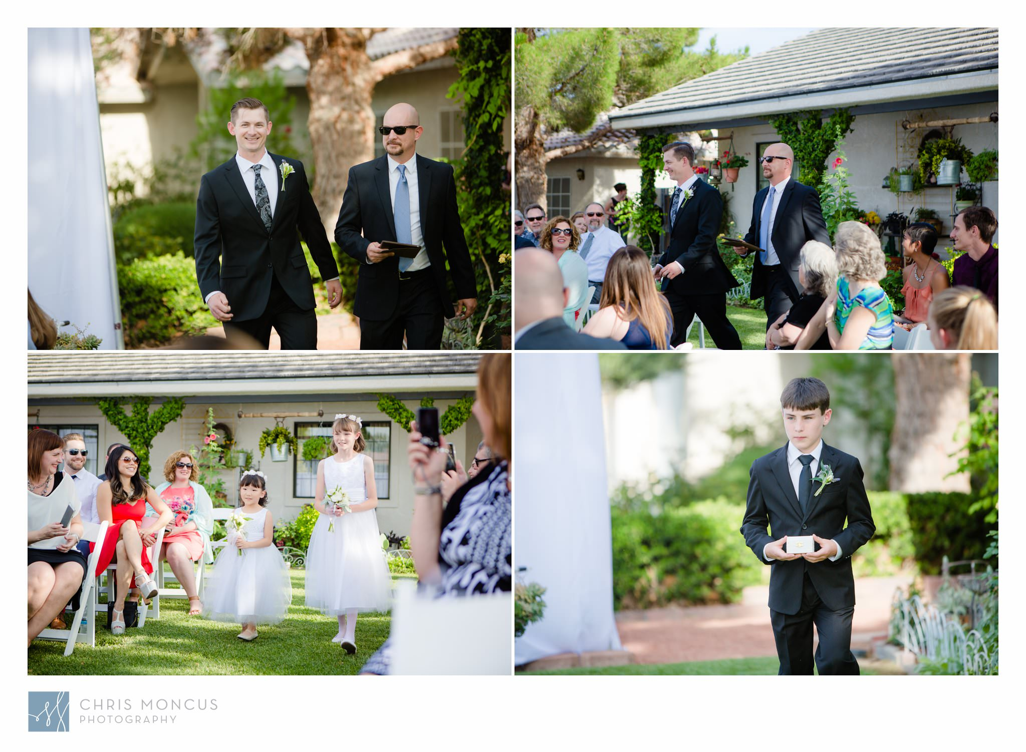 Flower Girls and Ring Bearer Las Vegas Wedding