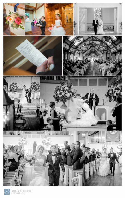 Wedding Ceremony at Wesley United Methodist St Simons Island