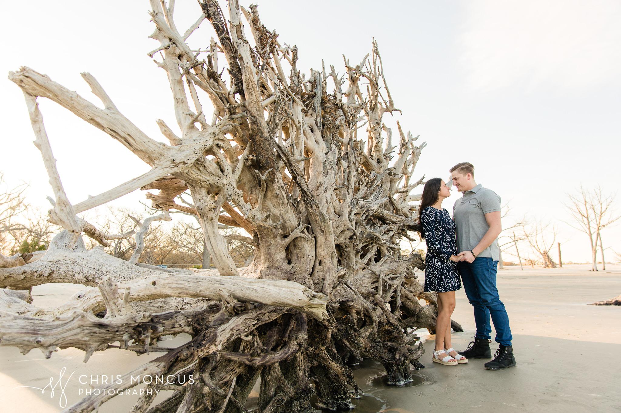 Beach Portraits Driftwood Jekyll