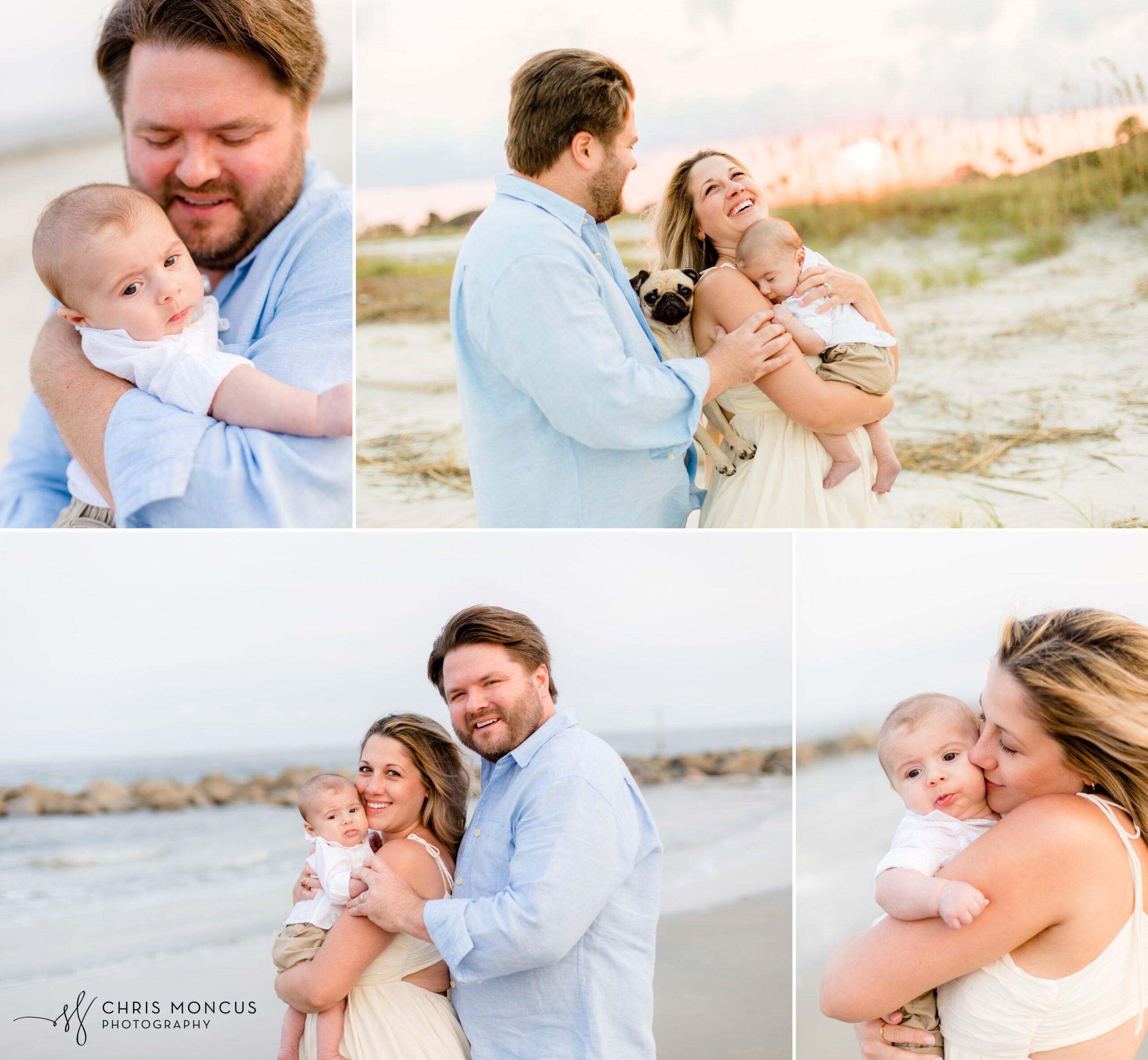 Sea Island Family Portrait Photographer