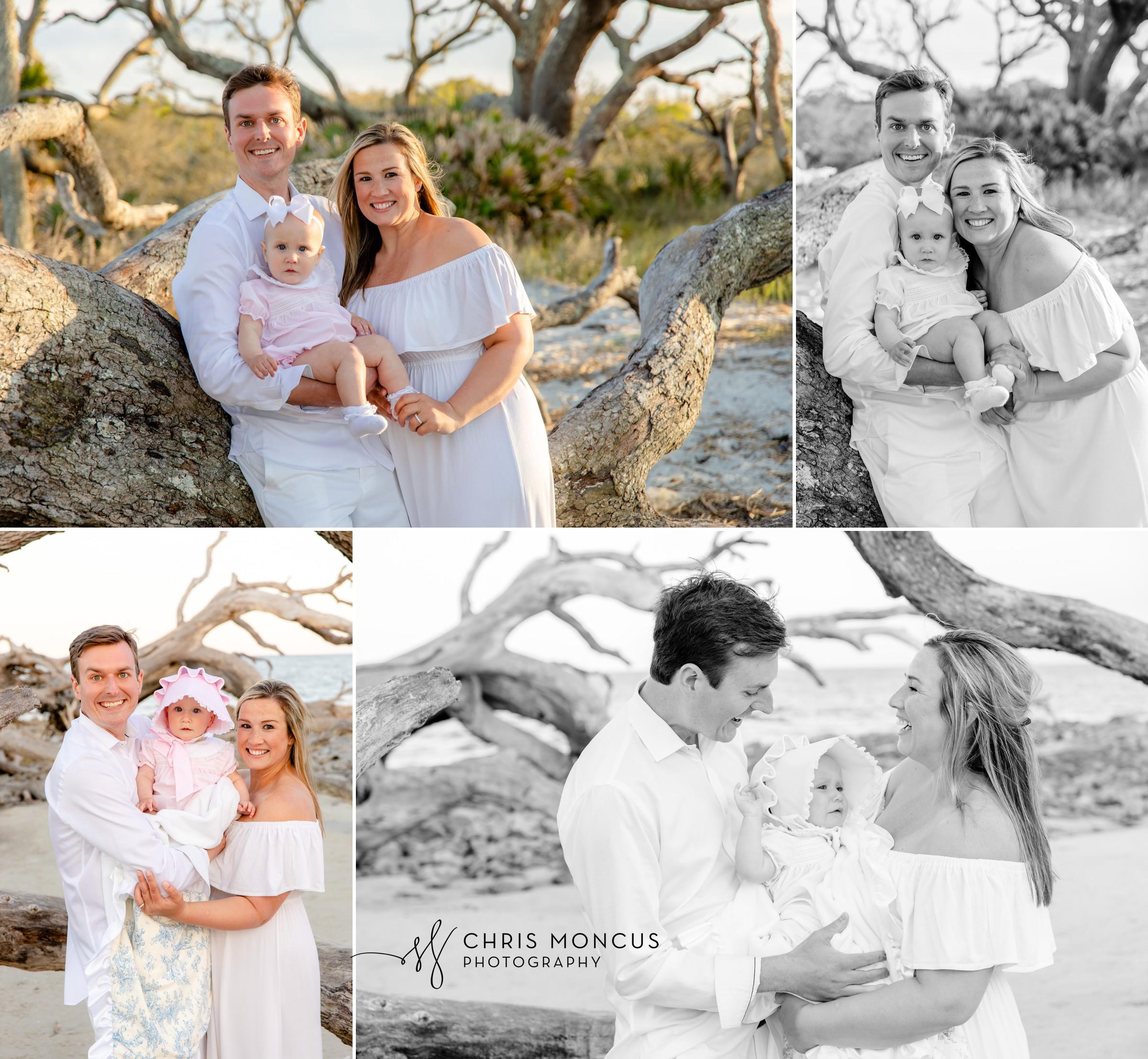 Driftwood Beach Family Portraits